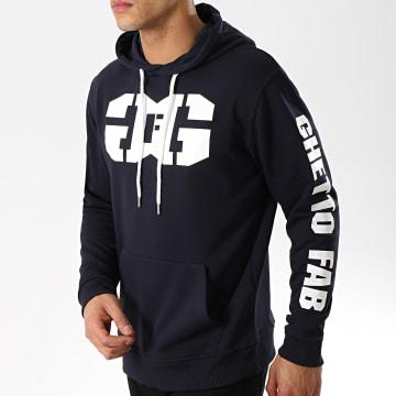 Ghetto Fabulous Gang - Sweat Capuche Gang Bleu Marine