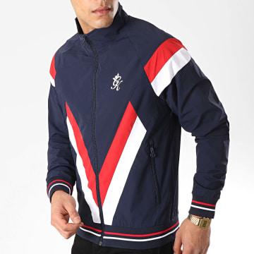 Gym King - Veste Zippée Sobers Bleu Marine Blanc Rouge