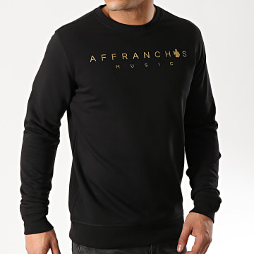 Sofiane - Sweat Crewneck Affranchis Music Noir Or