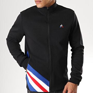 Le Coq Sportif - Veste Zippée Tricolore FZ 1911461 Noir