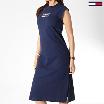 Robe Femme Logo 6175 Bleu Marine