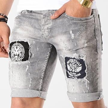 Short Jean 6159 Gris