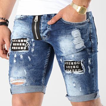 Short Jean 6155 Bleu Denim