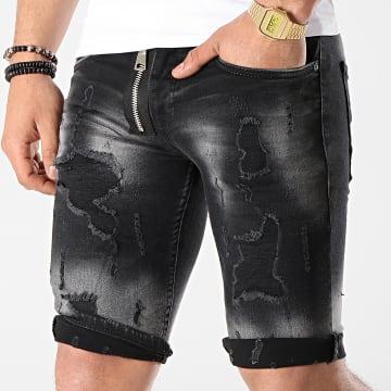 Short Jean 6156 Noir