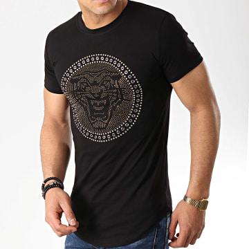 Tee Shirt Oversize 908821 Noir Doré