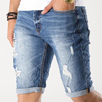Short Jean 58055 Bleu Denim