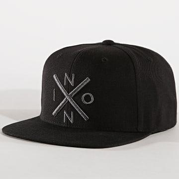 Nixon - Casquette Snapback Exchange Noir