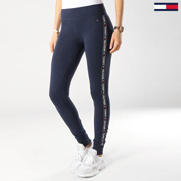 Legging Femme Avec Bandes 0563 Bleu Marine