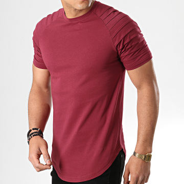 Tee Shirt Oversize 706 Bordeaux
