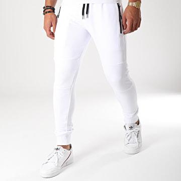 LBO - Pantalon Jogging 624 Blanc
