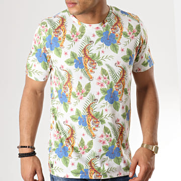 Tokyo Laundry - Tee Shirt Honolulu Blanc Floral