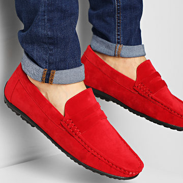 Classic Series - Mocassins UM101 Red
