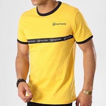 Sergio Tacchini - Tee Shirt Original 37859 Jaune Noir