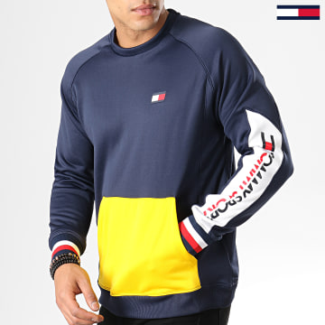 Sweat Crewneck Colourblock S20S200085 Bleu Marine