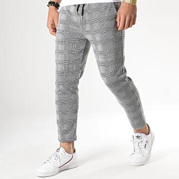 Pantalon Carreaux 18-228-1 Gris Noir