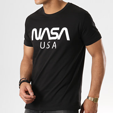 NASA - Tee Shirt USA Noir