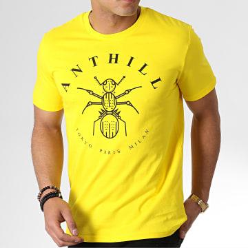 Tee Shirt Logo Jaune