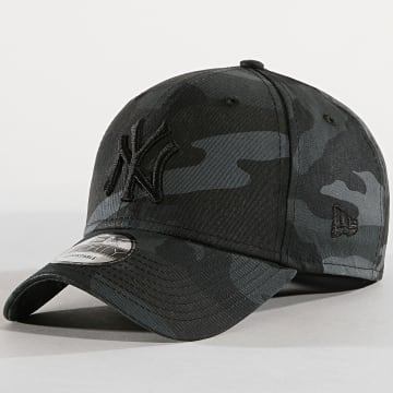 New Era - Casquette League Essential New York Yankees 12051998 Gris Anthracite Camouflage