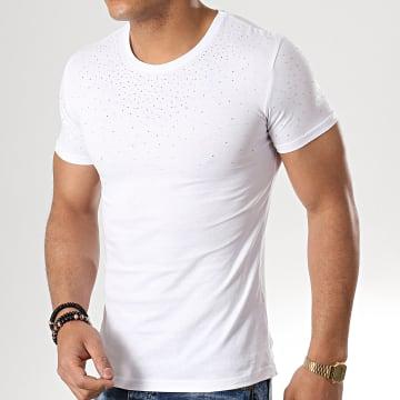 John H - Tee Shirt M-23 Blanc