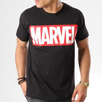 Marvel - Tee Shirt Marvel Logo Noir