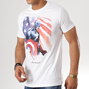 Tee Shirt Patriot Blanc