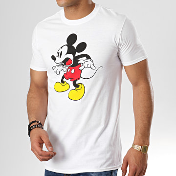 Tee Shirt Shocking Face Blanc