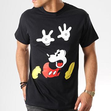 Tee Shirt Panic Face Noir