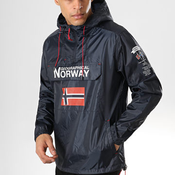 Geographical Norway - Coupe-Vent Butogaz Bleu Marine