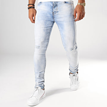 LBO - Jean Skinny 72175-5 Denim Bleu Wash