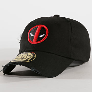 Deadpool - Casquette Deadpool 37 Noir