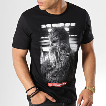 Star Wars - Tee Shirt Chewbacca Icone Noir