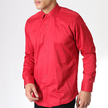 Chemise Manches Longues SDC66 Rouge