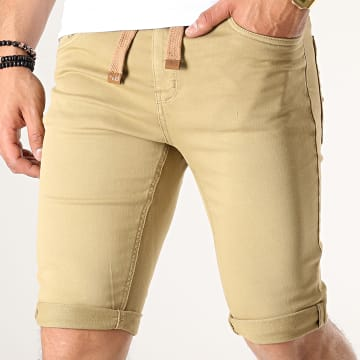 Paname Brothers - Short Jogg Jean Maldive Beige