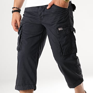 Short Cargo Rio Long Bleu Marine