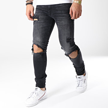 Jack And Jones - Jean Slim Tom Original Am 847 Noir