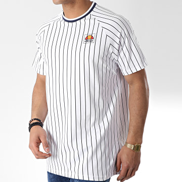 Tee Shirt Stripes 1031N Blanc
