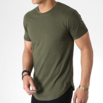 Tee Shirt Oversize 703 Vert Khaki