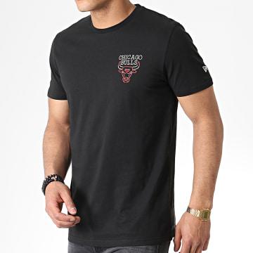 Tee Shirt Neon Light Chicago Bulls 11935240 Noir