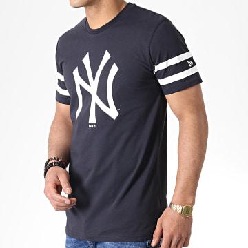 New Era - Tee Shirt New York Yankees Team Logo 11935267 Bleu Marine