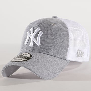 New Era - Casquette Trucker Summer League 940 New York Yankees 11945623 Gris Chiné Blanc