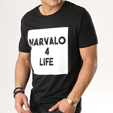 Swift Guad - Tee Shirt Narvalo 4 Life Noir