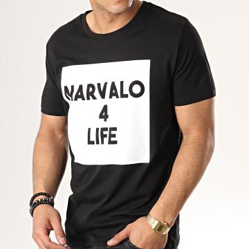 Tee Shirt Narvalo 4 Life Noir