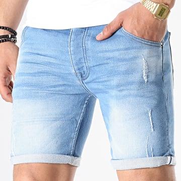 Short Jean Skinny Lincolnligt Bleu Denim