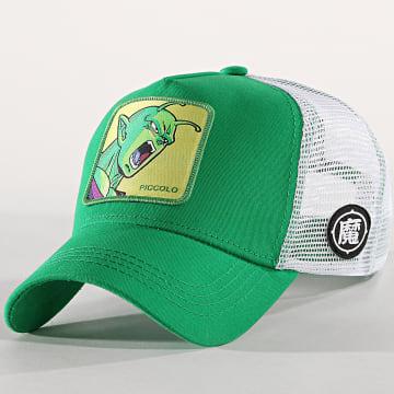 Capslab - Casquette Trucker Piccolo Vert