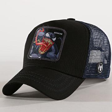 Casquette Trucker Venom Noir Bleu Marine