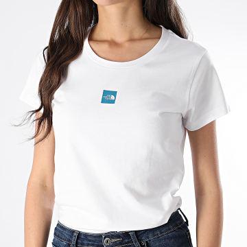 The North Face - Tee Shirt Femme Fine 3YIG Blanc