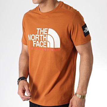 Tee Shirt Fine Alp T93RX Marron