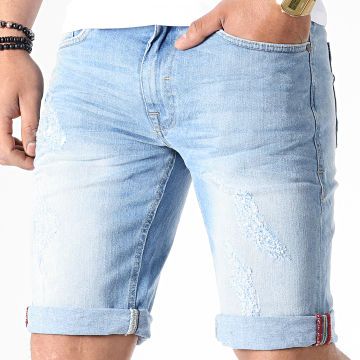 Short Jean Slim 20708378 Bleu Denim