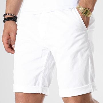 Short Chino WW-5280 Blanc