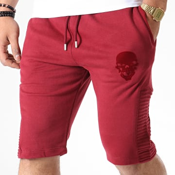 Short Jogging Skull Bordeaux